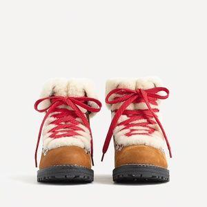 J. Crew Nordic Boots (Glazed Pecan)